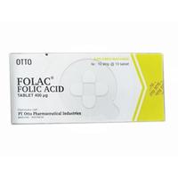 Folac Tablet (10 Strip @ 10 Tablet)