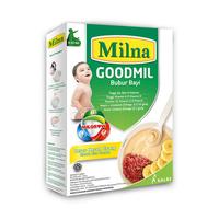 Milna Goodmil Bubur Khusus Beras Merah Pisang 6+ - 120 g