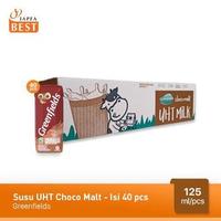 Greenfields Susu UHT Choco Malt 125 ml - 40 Pcs