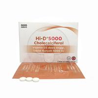 HI-D 5000 Tablet Kunyah (1 Strip @ 6 Tablet)