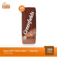 Greenfields Susu UHT Choco Malt 250 ml - 24 Pcs