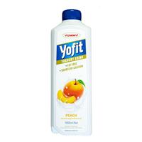 Yummy Yofit Yoghurt Drink Peach 2 x 1 Liter