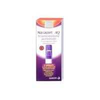 Nasacort AQ Nasal Spray 55 mikrogram/dosis