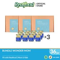 Realfood Wonder Mom Triple Bundle