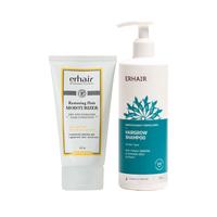Erha VP Hairgrow Shampoo & Hair Moisturizer - Sampo Anti Rontok & Pelembab Rambut 370 mL