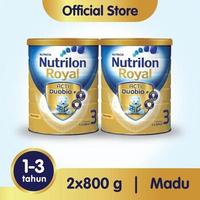 Paket 2 - Nutrilon Royal 3 Susu Pertumbuhan 1-3 Tahun Madu 800 g