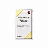 Sporetik Sirup Kering 30 ml