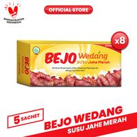 Bejo Susu Jahe Merah (SUJAMER) 8 Pack ( 40 Sachet )