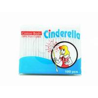 Cinderella Cotton Buds (1 Pack @ 100 Pcs)
