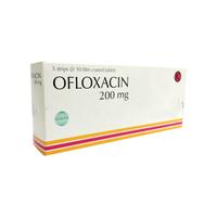 Ofloxacin Tablet 200 mg (1 Strip @ 10 Tablet)