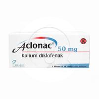 Aclonac Tablet 50 mg (1 Strip @ 10 Tablet)