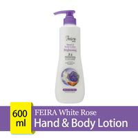 FEIRA White Rose Hand & Body Lotion 600 mL