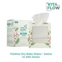 (NEW) VITAFLOW Dry Tissue Satine (200 Lembar)