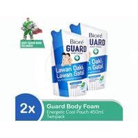 BIORE Body Foam Energetic Cool Pouch 450mL Twinpack
