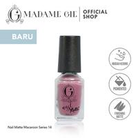 Madame Gie Nail Matte 14 Almond