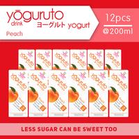 Heavenly Blush Yoguruto Peach 200 ml (12 Pcs)