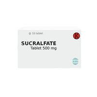 Sucralfate Tablet 500 mg (1 strip @ 10 tablet)