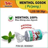 Cap Dragon Menthol Refill LOS SB 20 g