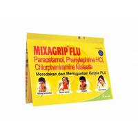 Mixagrip Flu Kaplet (1 Strip @ 4 Kaplet)