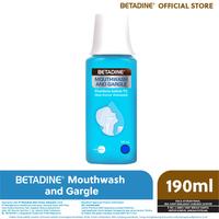 BETADINE Mouthwash & Gargle 190 mL