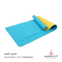 Happyfit Yogamat TPE 4 mm - Blue