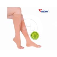 Variteks - Varicose Stocking Knee High Open Toe CCL 2 ( XXL Black)