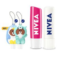 NIVEA Lip Care Soothe Watermelon Set GET Lip Line Holder