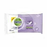 Dettol Sensitive Wipes (1 pack @ 10 lembar)
