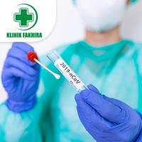 Swab PCR Test COVID-19 (Hasil 1 Hari) - Klinik Fakhira