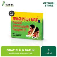 Mixagrip Flu & Batuk Kaplet Value Pack (10 Strip)