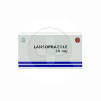 Lansoprazole Kapsul 30 mg (1 Strip @ 10 Kapsul)