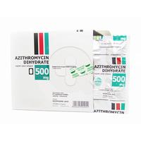 Azithromycin Hexpharm Kaplet 500 mg (Box @ 6 Kaplet)