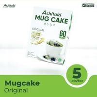 Ashitaki Mug Cake Original 42 g (1 Box @ 5 Sachet)