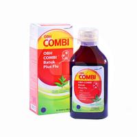 OBH Combi Batuk Plus Flu Rasa Menthol Sirup 100 mL