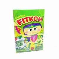 Fitkom Gummy Fruit & Veggie (1 Box @ 5 Sachet)