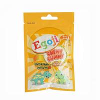 Egoji Chewy Gummy Jeruk 20 g (1 Sachet @ 10 Pcs)