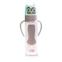 Lusty Bunny Character Feeding Bottle Botol Susu With Handle 250 ml - Hijau