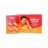 Bodrex Migra Kaplet (25 Strip @ 4 Kaplet)