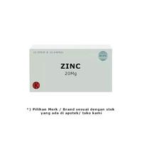 Zinc Tablet 20 mg (1 Strip @ 10 Tablet)