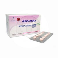 Ascardia Tablet 80 mg (10 Strip @ 10 Tablet)