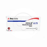 Dexa M Tablet 0,75 mg (1 Strip @ 10 Tablet)