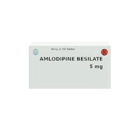 Amlodipine Tablet 5 mg (1 Strip @ 10 Tablet)