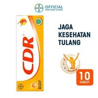 CDR Tablet Effervescent Rasa Jeruk Mandarin (1 Tube @ 10 Tablet)
