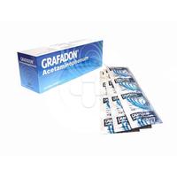 Grafadon Kaplet 500 mg (10 Strip @ 10 Kaplet)