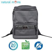 Natural Moms Thermal Bag/Cooler Bag - Backpack Max Black Stone