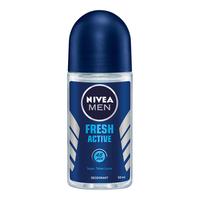NIVEA Deodorant Fresh Active Roll On 50 ml