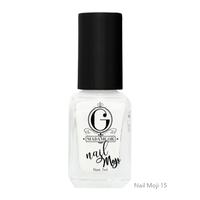 Madame Gie Nail Moji 15 Whitespace