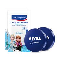 NIVEA x Hansaplast Touch and Care Kit - Frozen