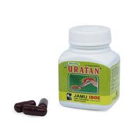 Jamu IBOE 3 Box Uratan Strip Kapsul Herbal Supplement Isi 40 Kapsul