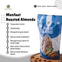 Francis Organic Roasted Almond/Almond Panggang 500 g - Honey Coated